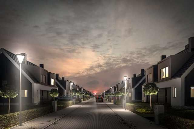 Wizualizacja architektoniczna osiedla